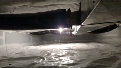 Crawlspace - post weatherization