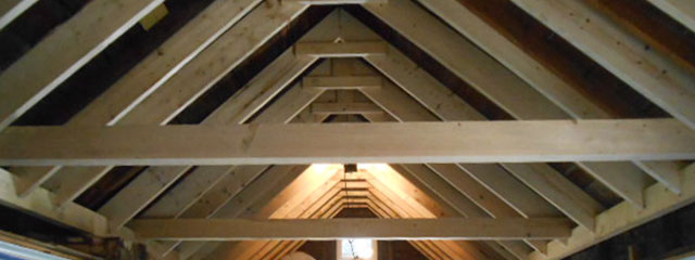 Roof Rafters - Rennovation