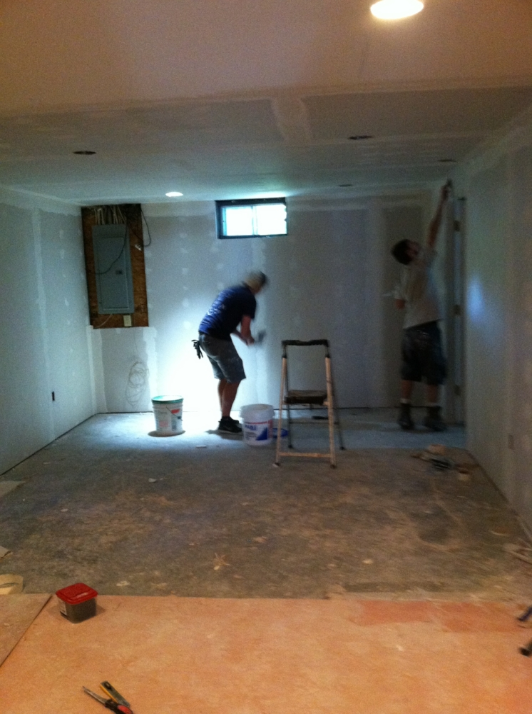 Drywall & Recessed Lights