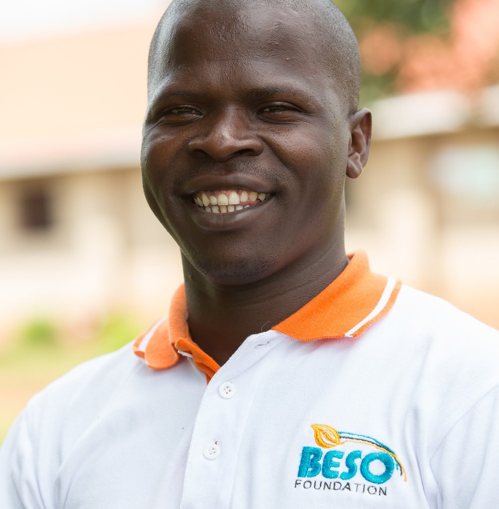 Aaron Bukenya, Founder and Executive Director of Beso Foundation