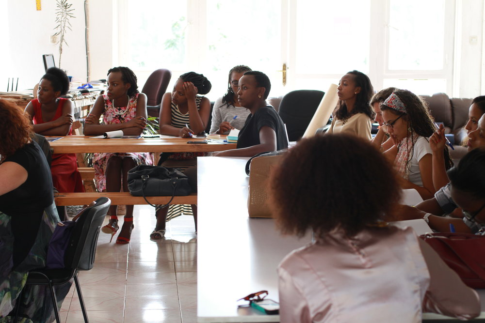 Resonate Open Workshop welcomed nonprofit and business leaders from around Kigali to gain a deeper understanding of our Storytelling for Leadership approach (photo credit: Resonate)