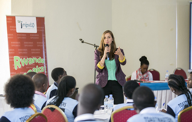 Ayla leading workshop with the Imbuto Foundation in Kigali, Rwanda (photo credit: Imbuto Foundation)