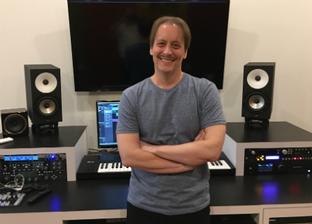 Steve Ouimette - creating music in the modern environment of video games and TV commercials