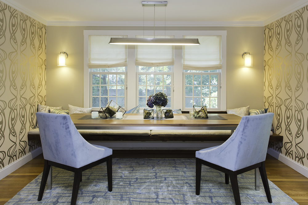 Wellesley Colonial Living + Dining Rooms
