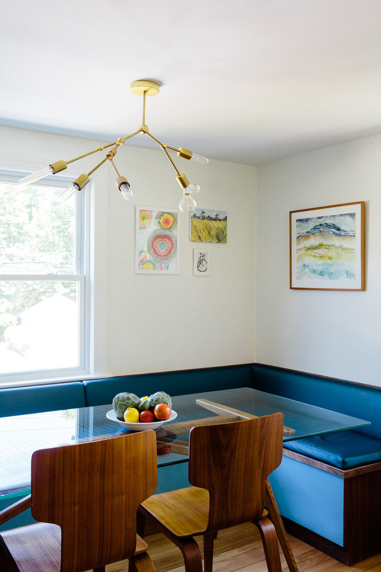 Jamaica Plain Dining Kitchen Gut Renovation — ID8 Design Studio
