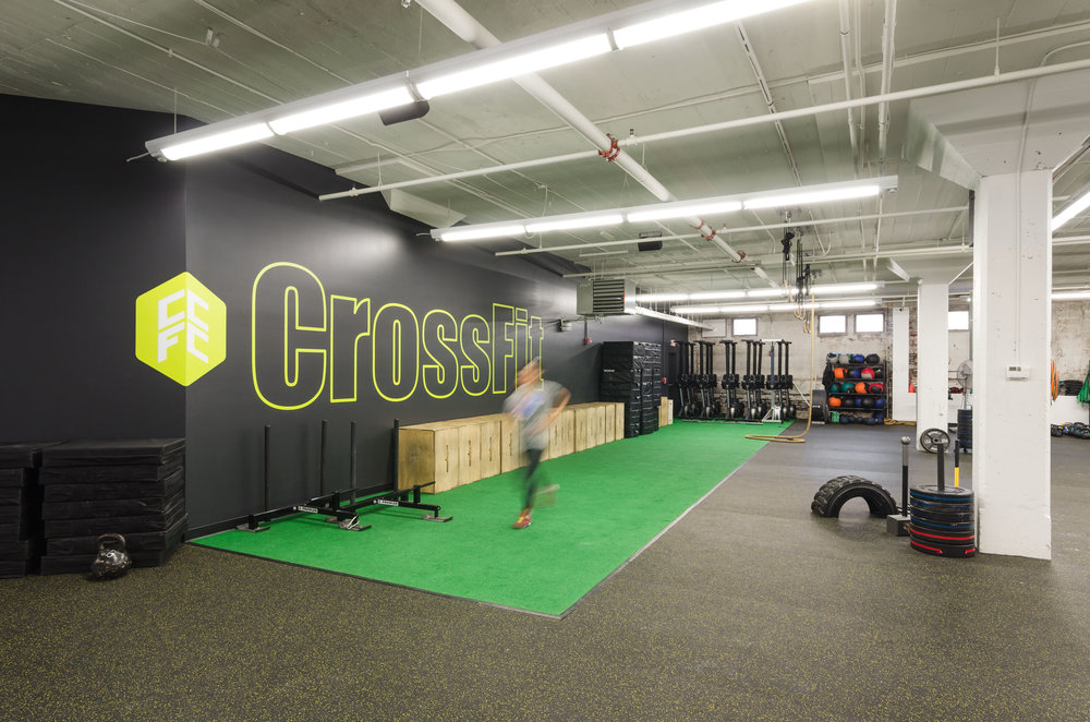 Crossfit coolidge corner — id design studio