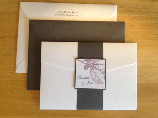 Invite & Envelopes