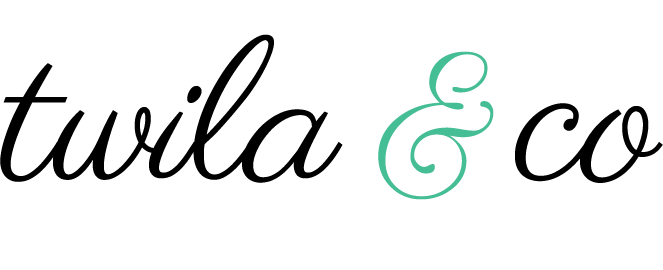 Twila and Co Logo for Wordpress