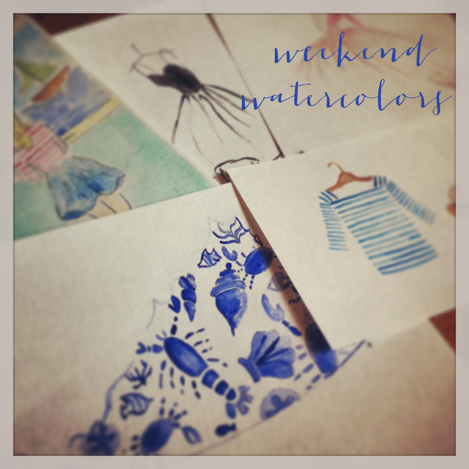 weekendwatercolors