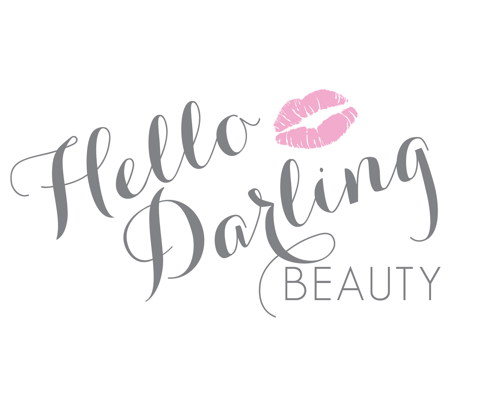 HelloDarlingBeauty_LogoGrey