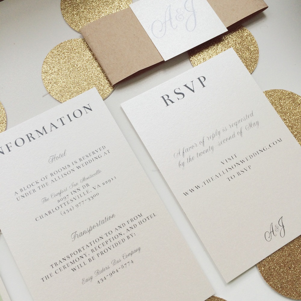 Anatomy of an Invitation Suite — Twila & Co.
