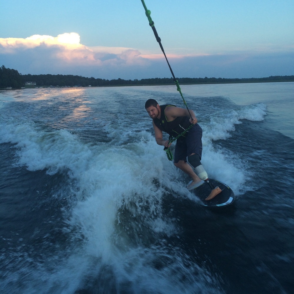 As you can see, it worked pretty well! Joe went Wake surfing the very next day and totally killed it.