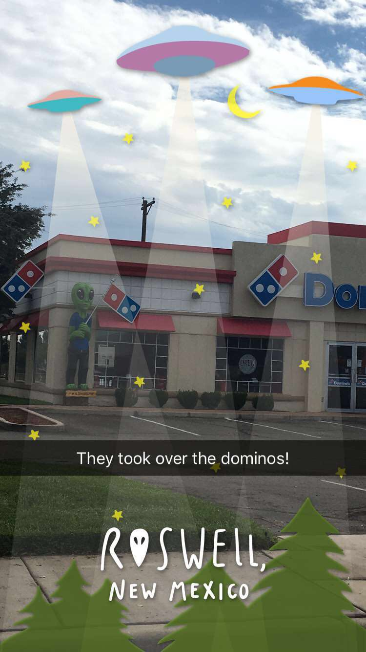 they took over the dominos!
