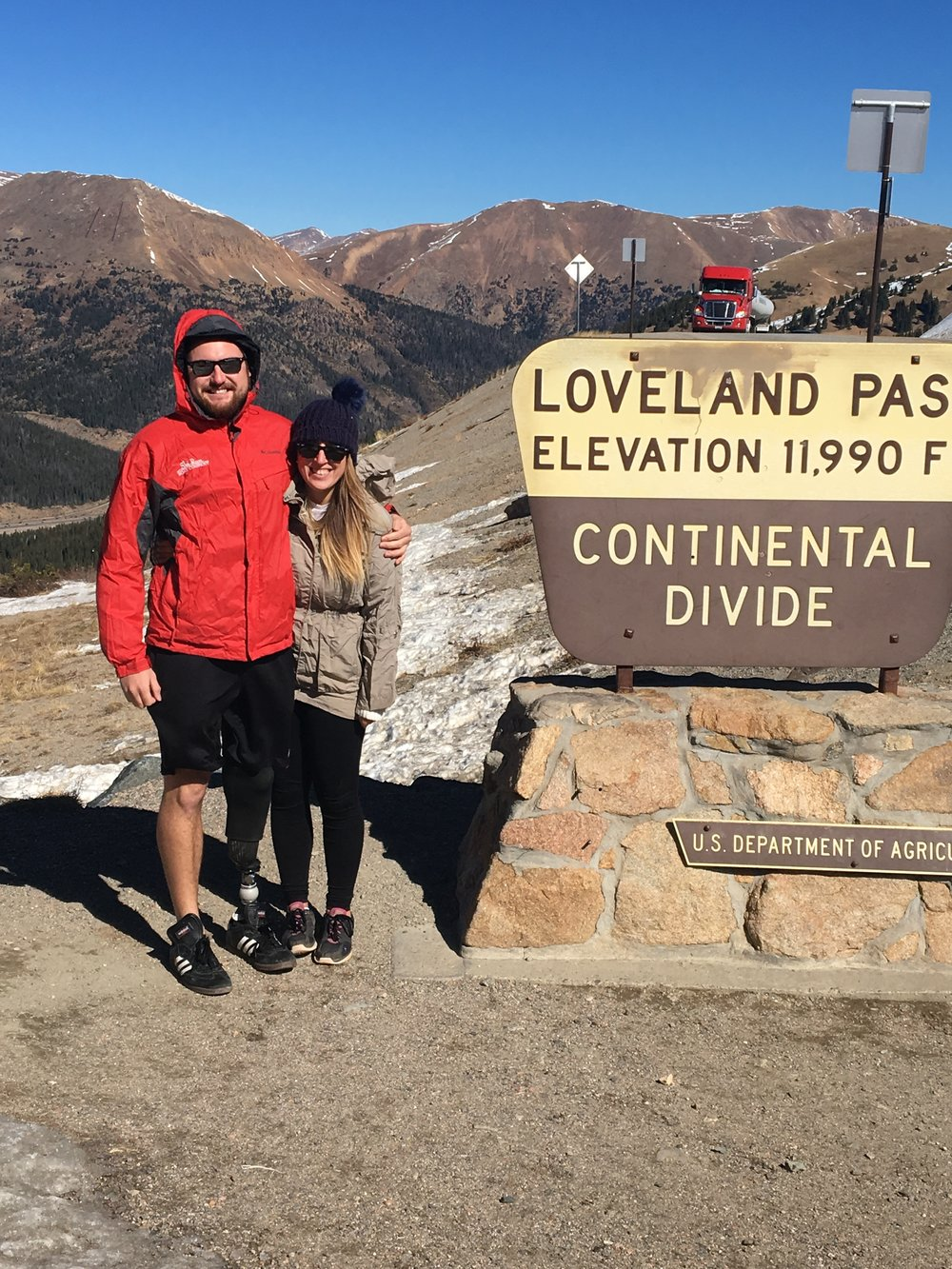 joe and i at the loveland pass