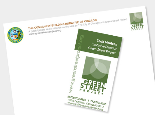Identity for Green Street Project