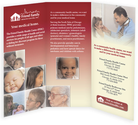 Health Clinic Brochure
