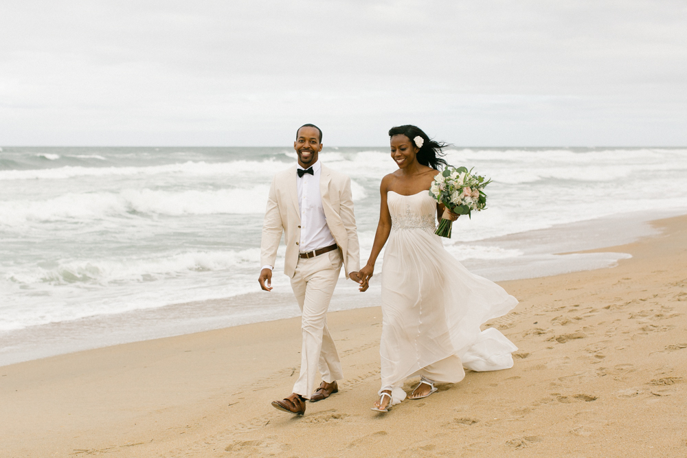 obx_beach_bride_groom_walking