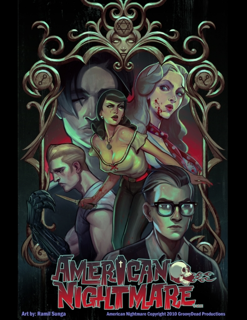 American Nightmare Incentive Cover by Ramil Sunga from the Gallery