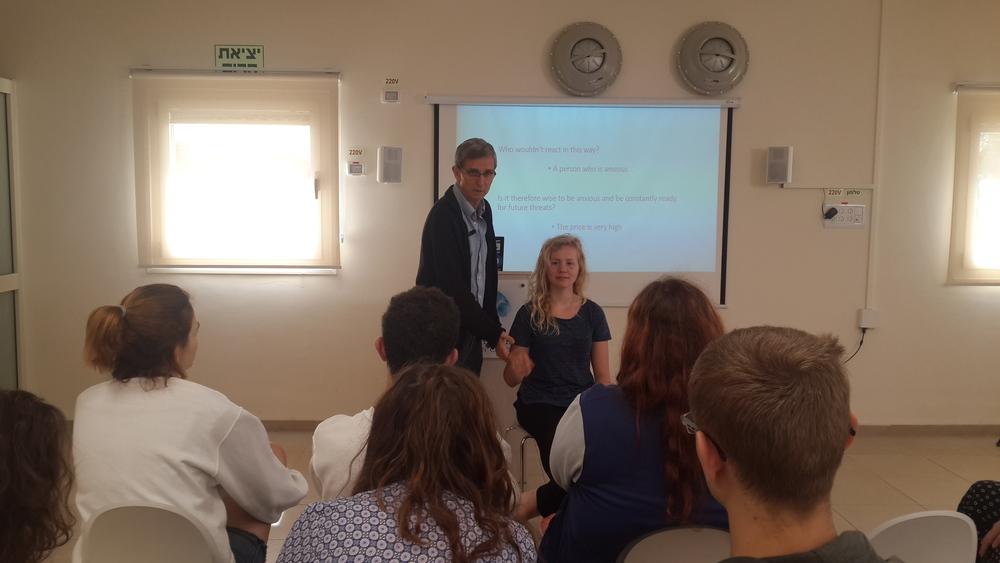 Prof. Nati Laor and Danny Hamiel PH.D Lecture