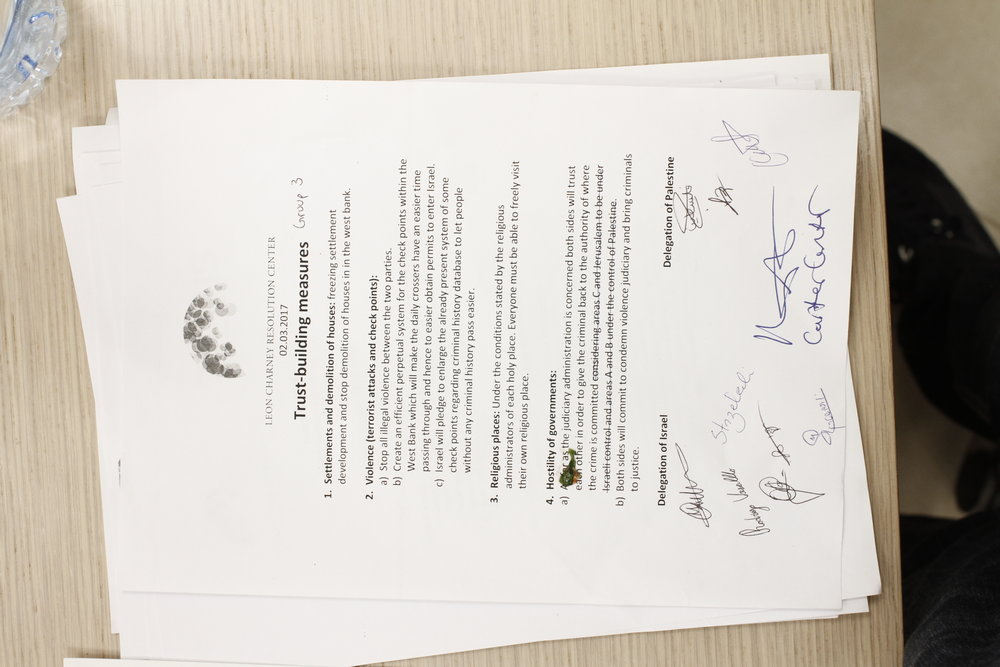The Signed Agreement
