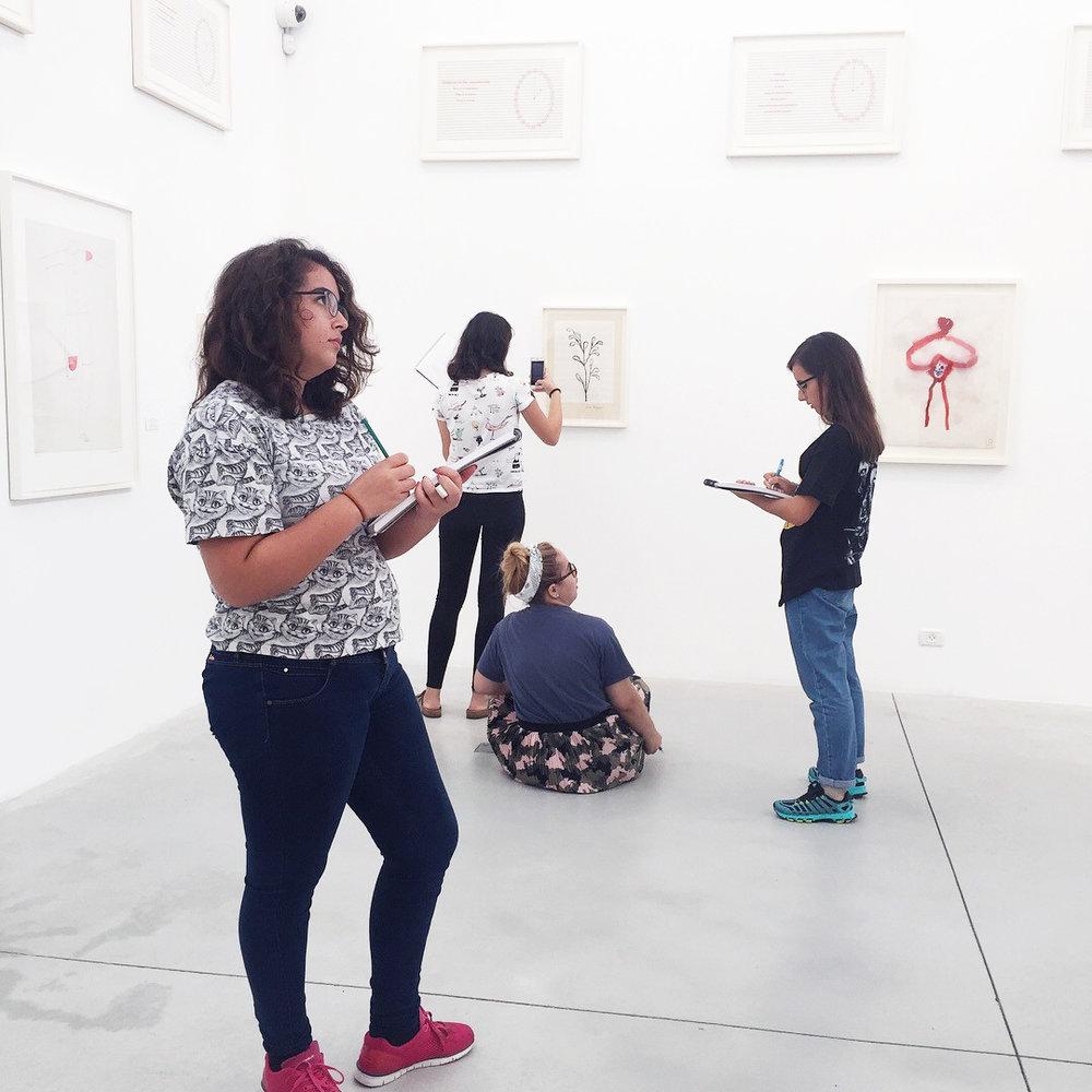 Oct'17: First Semester Art Field Trip