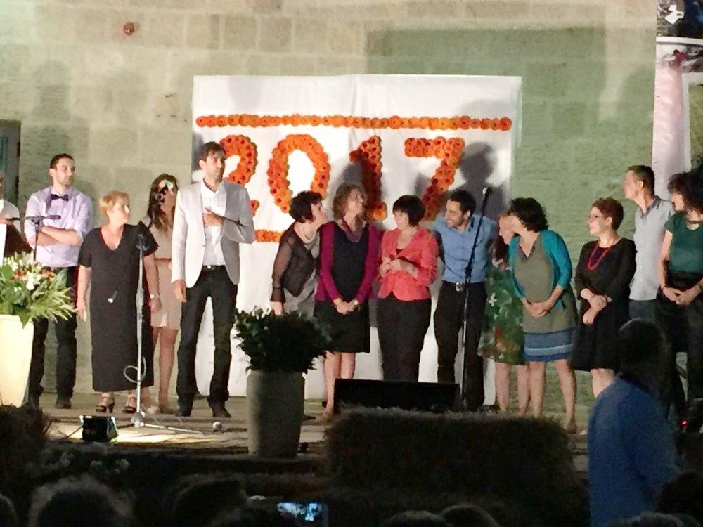 May'17: EMIS Graduation & Women's Congress & Tzili Charney Honorary Doctorate