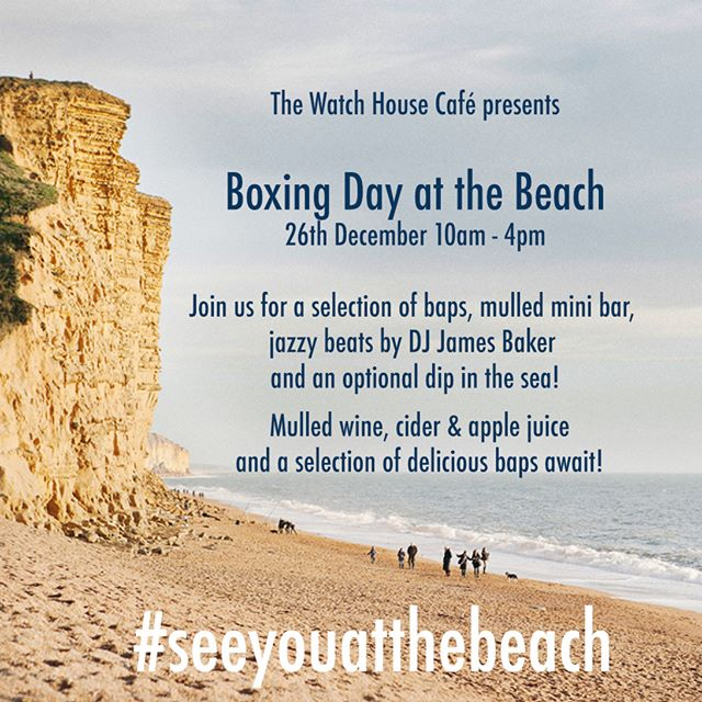 Got plans for Boxing Day? You do now! #ThursdayThoughts #BoxingDay #WestBay #mulledwine #westbaywallow #dorset #dorsetlife #jurassiccoast