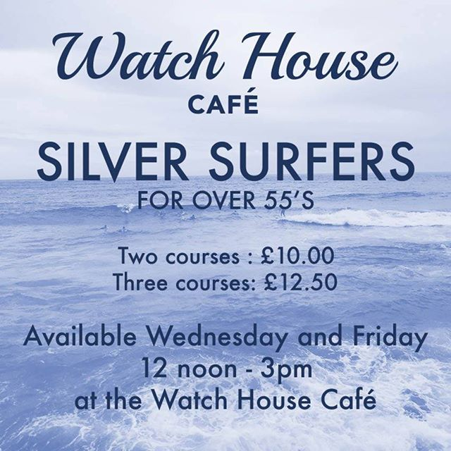 Lovely day for our Silver Surfers menu! #WednesdayWisdom #fishandchips #seafood #rainyday #comfortfood #westbay #dorset #jurassiccoast #broadchurch #foodie #restaurant #instafood #seeyouatthebeach