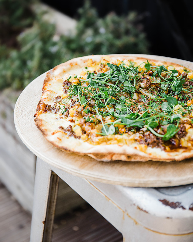 Have you ever tried a Cornish pasty pizza? Come and sample ours! Minced beef, swede, potato, onion, beef jus, and cornish yarg. Just £14. #yum #PastyPizza #MondayMotivation #pastysmile #dorset #jurassiccoast #restaurant #foodie #jurassiccoast #fortheloveofpizza #westbay