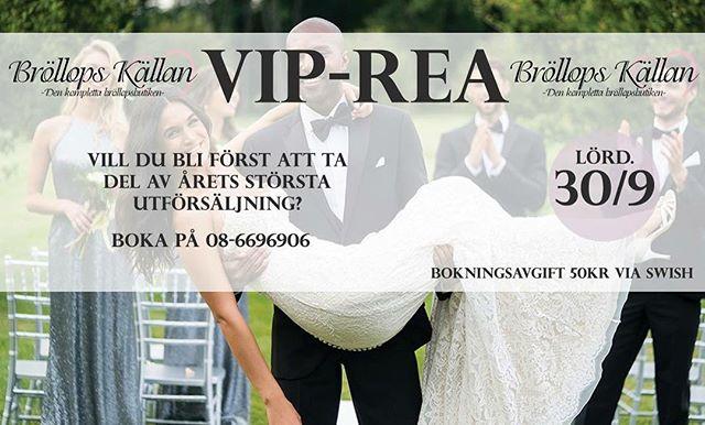#viprea #vip #sale #rea #billigabrudklänningar #brudklänningar #brudklänning #morilee #sinceritybridal #justinalexander #stpatrickbridal #pronovias #modeca #couture #svensktmode #stockholm #hornstull