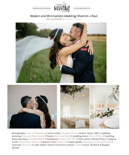 GREEN WEDDING SHOES – OCTOBER 2016