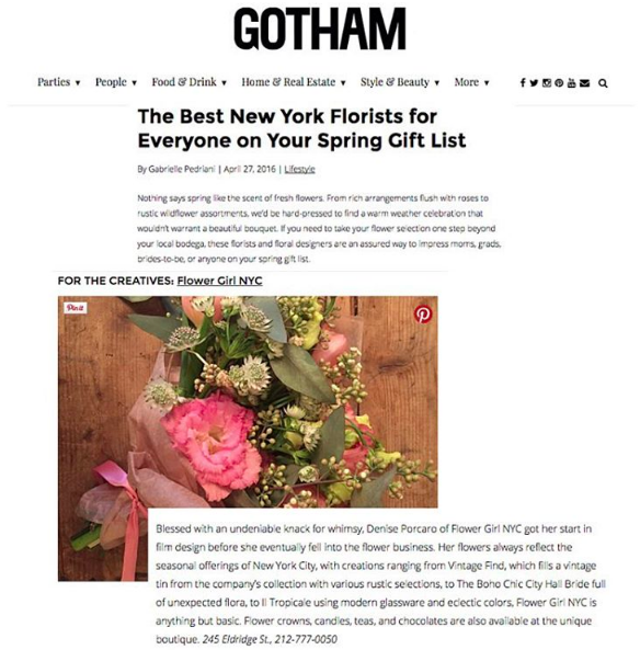 GOTHAM – APRIL 2016