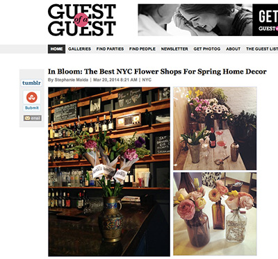 GUEST OF A GUEST - MAY 2014