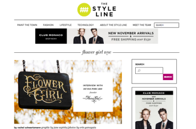 THE STYLE LINE - NOVEMBER 2013