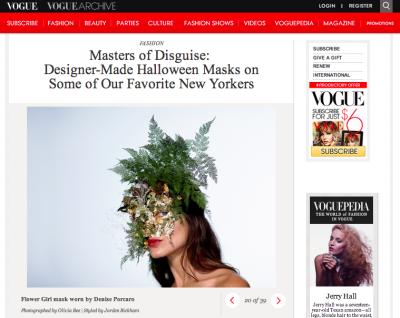 VOGUE.COM - OCTOBER 2013