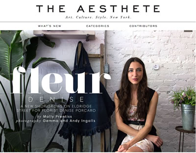 THE AESTHETE - MAY 2013
