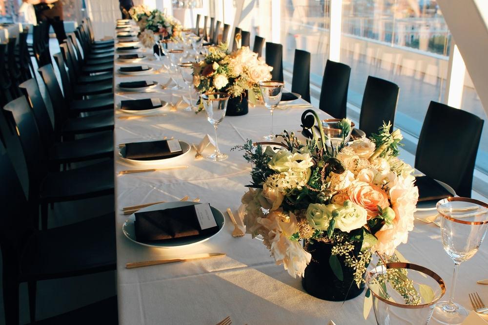 nyc wedding centerpieces