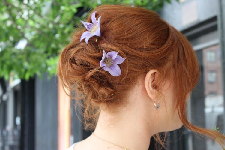 floral headpiece nyc