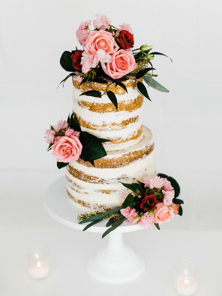 nyc wedding cake flowers