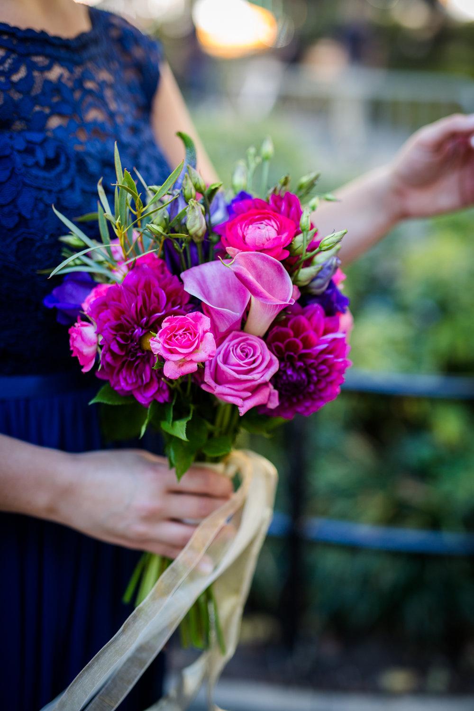 bridesmaid bouquet nyc