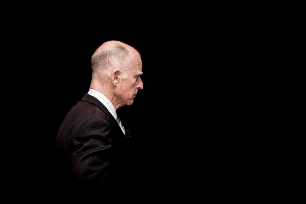 California Governor Jerry Brown.  Image: Ohad Ben-Yoseph.