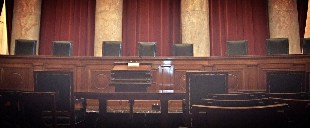 Courtroom of the United States Supreme Court.  Photo: John Marino.