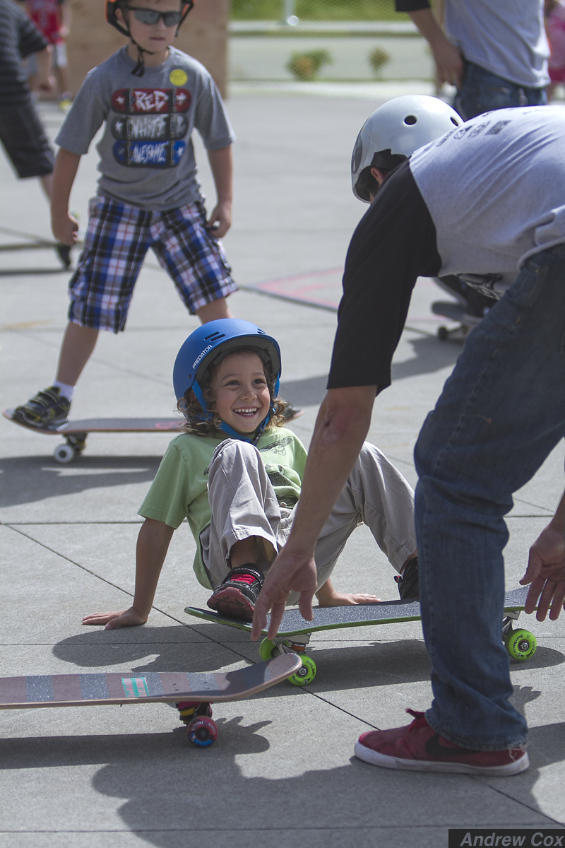 Alchemy currently partners with two schools to provide curriculum centered around skateboarding that is part physical education and part vocational.