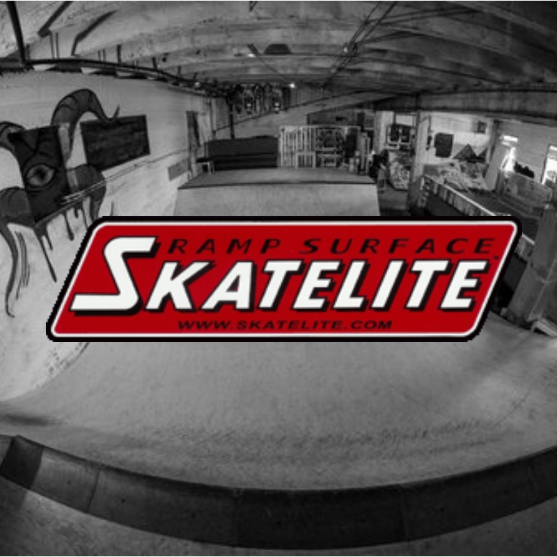 For more than 20 years, Skatelite has stood the test of time as the premium skate ramp surface used by the pros, the top action sports camps, and the world's most notable competitions. Both proven legends and the legends-in-making depend on Skatelite's weather resistance and the nearly indestructible construction that delivers a balance of speed and grip not attainable with any other surface.