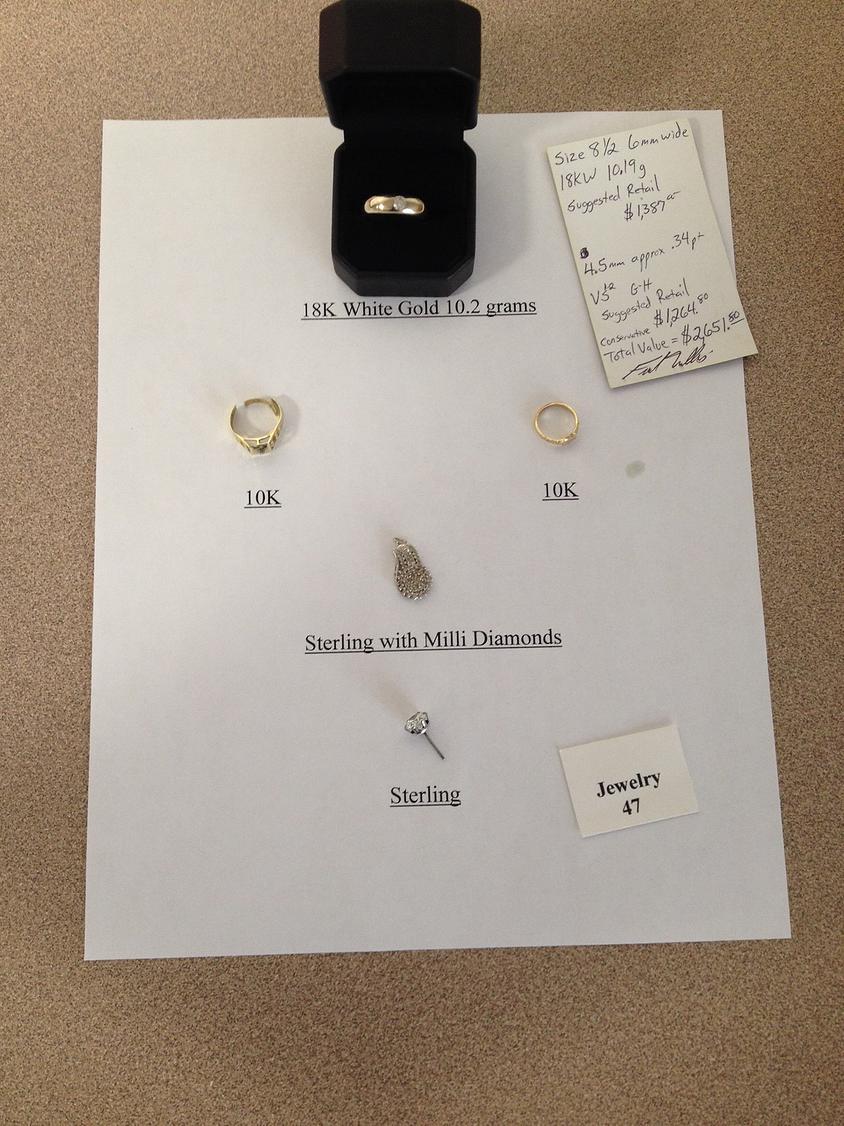 Jewelry: Rob Pech