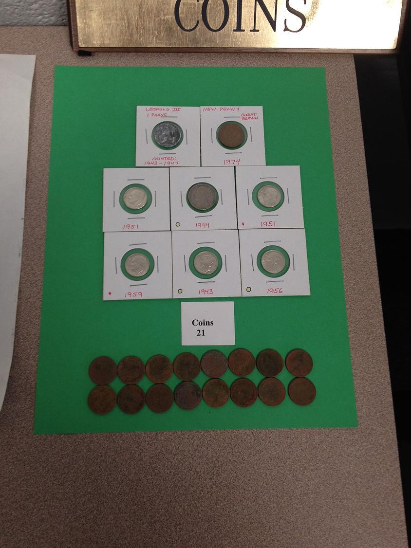 Coins: Mark Whipkey