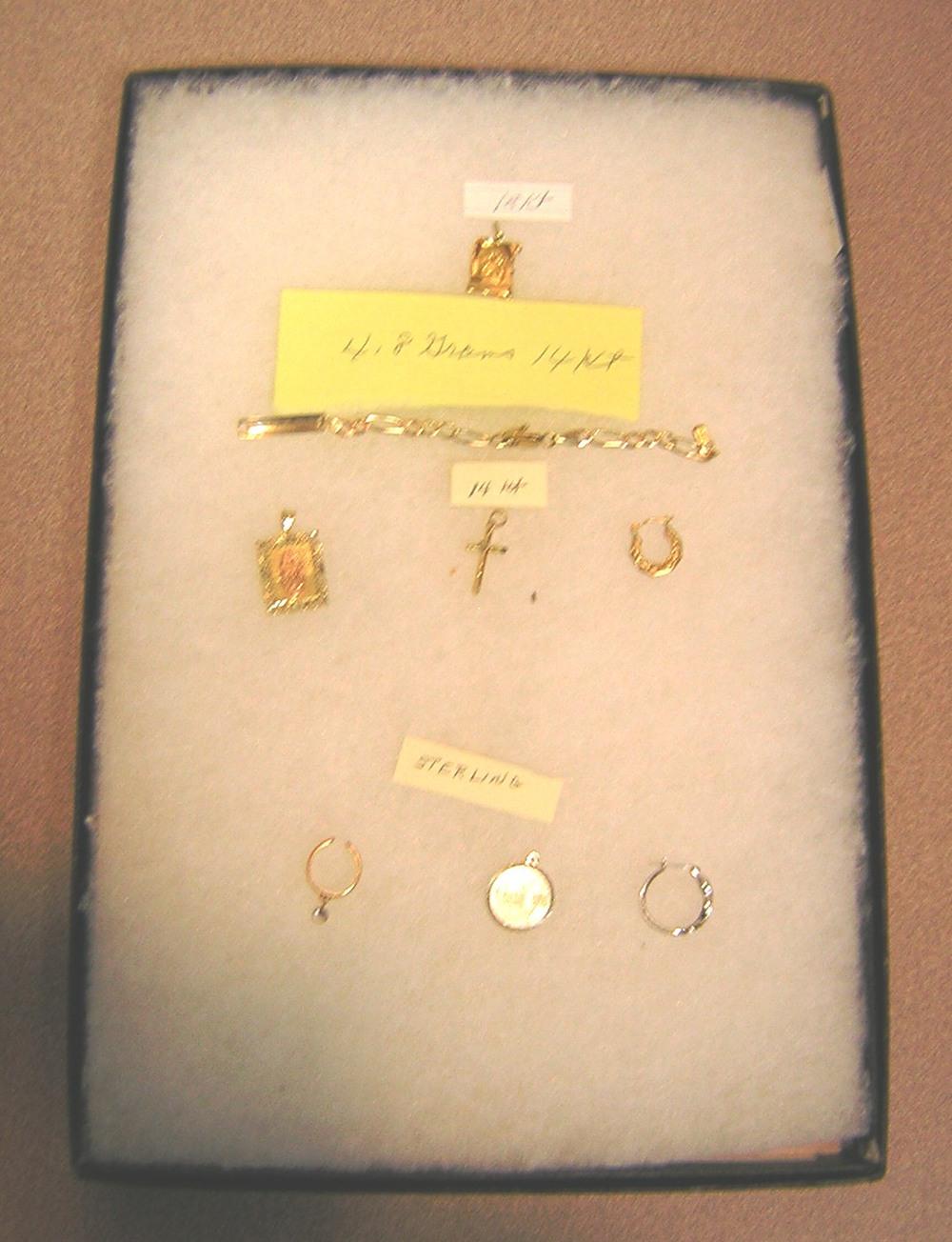 Jewelry:Bill Robertson.