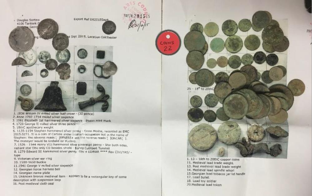 Coins - Doug Sortino