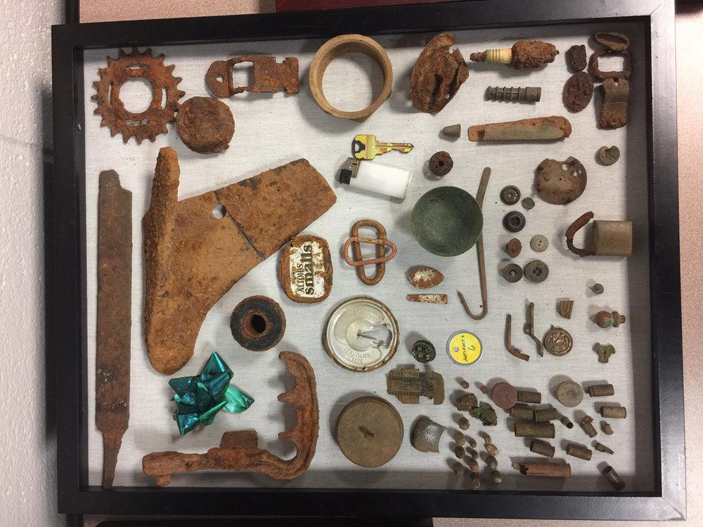 Artifacts: Ken Buckner