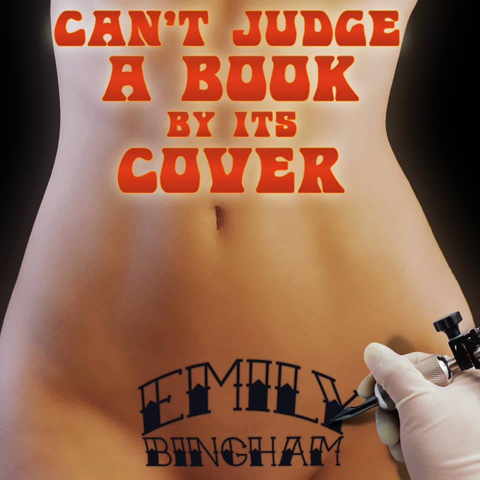 """Listen to Rose Caraway of The Kiss Me Quick podcast read my story """"Can't Judge a Book By Its Cover."""""""